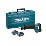 Makita JR001GM201 con 2 baterías 4Ah - Sierra sable BL 40Vmáx XGT 32 mm