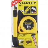 Pack Cutter 18mm + Flexómetro 5m Stanley