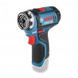 Taladro atornillador Flexiclick a batería Bosch GSR 12V-15 FC Professional