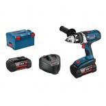 Taladro atornillador a batería Bosch GSR 36VE-2-LI Professional en L-BOXX con 2 baterías