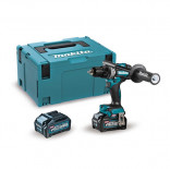Makita DF001GM201 con 2 baterías 4Ah - Taladro atornillador BL 40Vmáx XGT 140 Nm