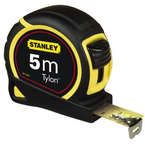 Flexómetro bimateria Tylon 5m x 19mm Stanley