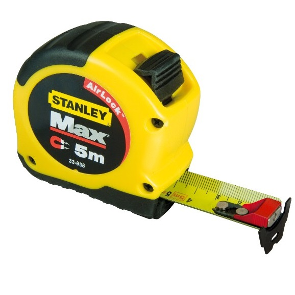 Flexómetro Max Magnético Stanley de 5m x 28mm
