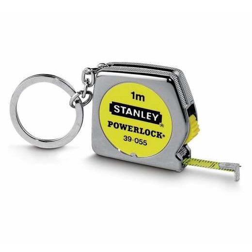 Miniflexómetro con llavero Powerlock 1m x 6'35mm Stanley
