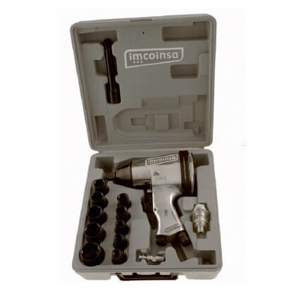 Kit pistola de impacto 1/2' Imcoinsa
