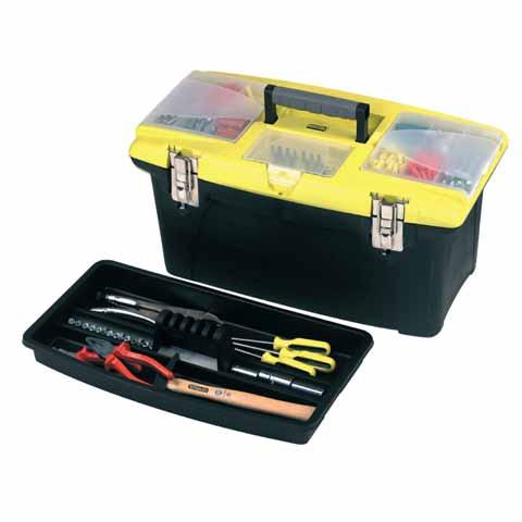 Caja herramientas Jumbo Stanley - 16'/41cm