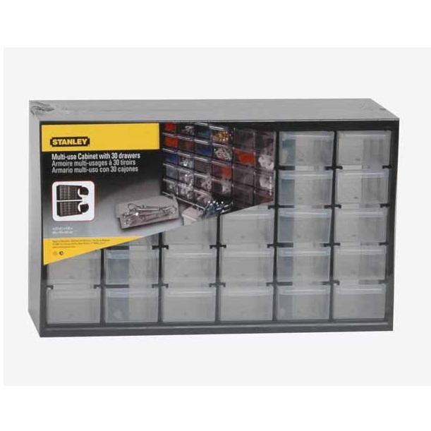 Caja de almacenamiento con 30 cajones Stanley - Referencia 1-93-980