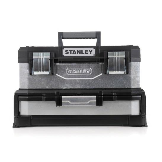 Caja herramientas Galvanizada con cajón Stanley -  20'/55cm