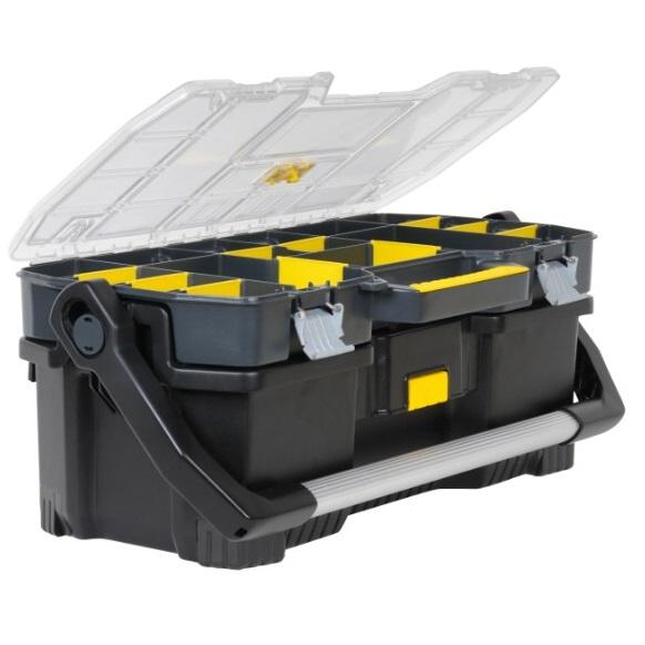 Caja herramientas con organizador Stanley - 67cm
