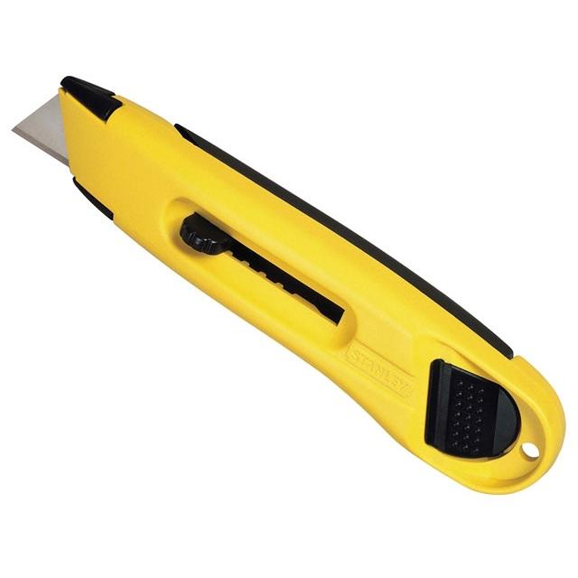 Cuchillo Hoja Retráctil Plástico Stanley