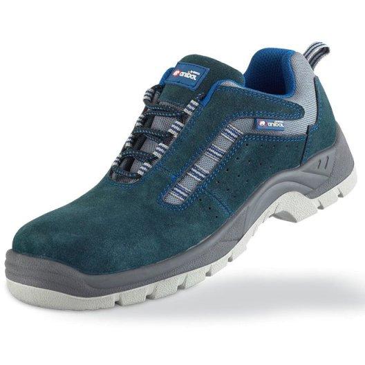 Anibal HISPALIS 1688-ZSRA PRO - Zapato serraje azul S1P