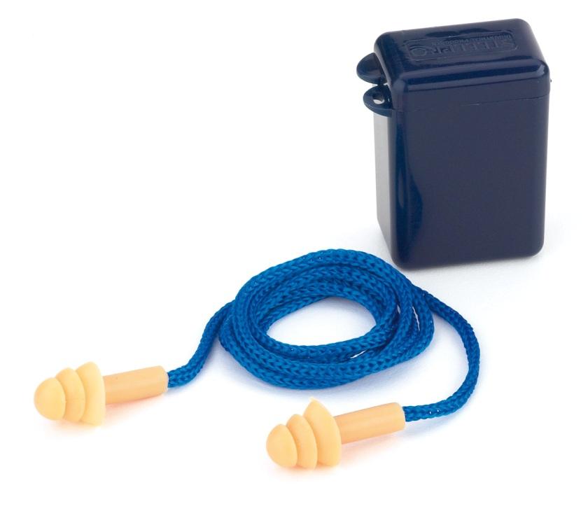 Tapón auditivo silicona reutilizable con cordón FIT EAR Ref. 1988-TRC (Caja de 100 pares) - Referencia 1988-TRC