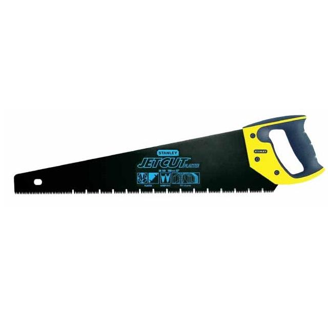 Serrucho jet-cut Appliflon para yeso Stanley 7DPP - 550mm