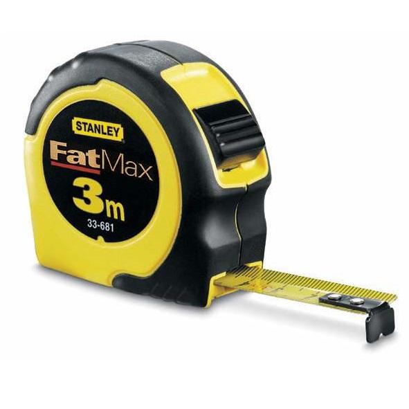 Flexómetro FatMax 3m x 16mm Stanley
