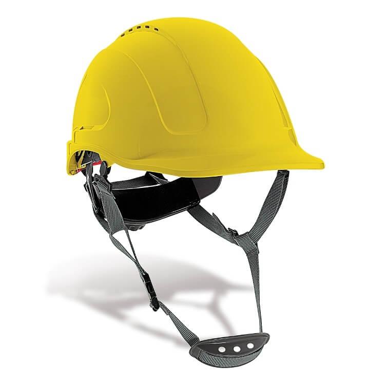Casco de protección ABS Mountain amarillo 2088-CMV Y