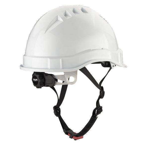 Casco dieléctrico mod. 'VOLT' ABS 2088-CV - Blanco