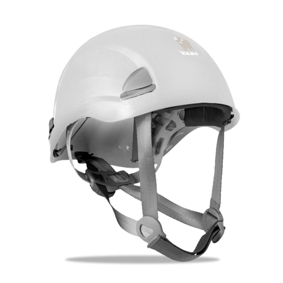 Casco de protección ABS Yako blanco 2088-CY BL
