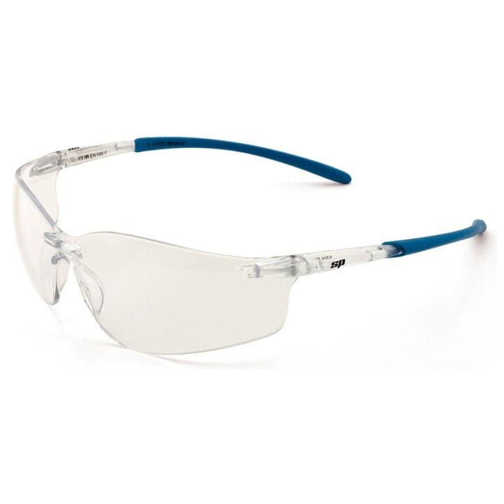 Gafas ligeras con patillas flexibles y ocular claro Mod. Spy City 2188-GSC