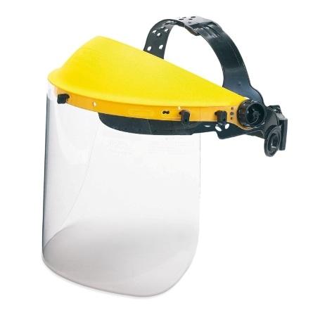 Pantalla facial para riesgos mecánicos Mod. Crasher 2188-PF