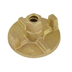 Plato roscado de Ø70 mm - 2 aletas