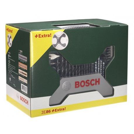 Maletín de 86 piezas para atornillar/taladrar Bosch + Pelota futbol