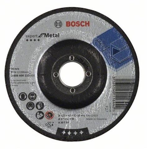 Disco de desbaste para metal Bosch Professional - 125mm