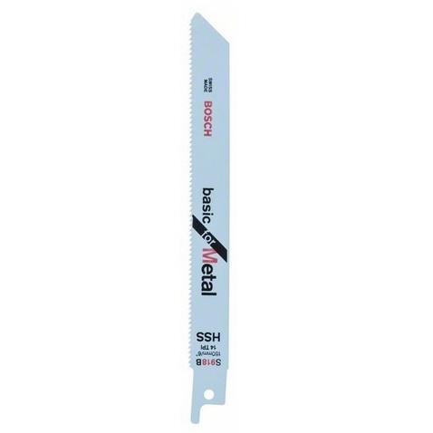 Hoja de sierra sable Bosch S 918 BF - 150mm 14tpi (Caja 5 unidades)