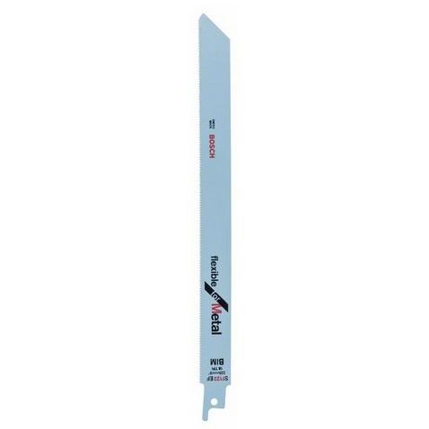 Hoja de sierra sable Bosch S 1122 EF - 225x19x0'9mm 18tpi (Caja 2 unidades)