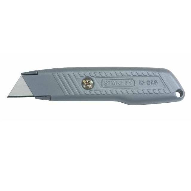 Cuchillo Hoja Fija Metálico ligero Interlock Stanley