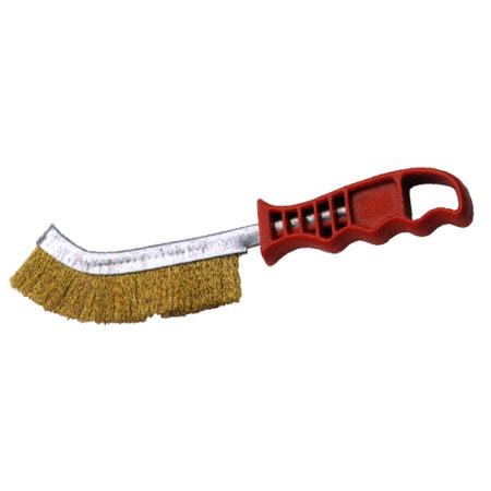 Cepillo Acero Latonado Alambre Recto Bellota Ref.50806-A