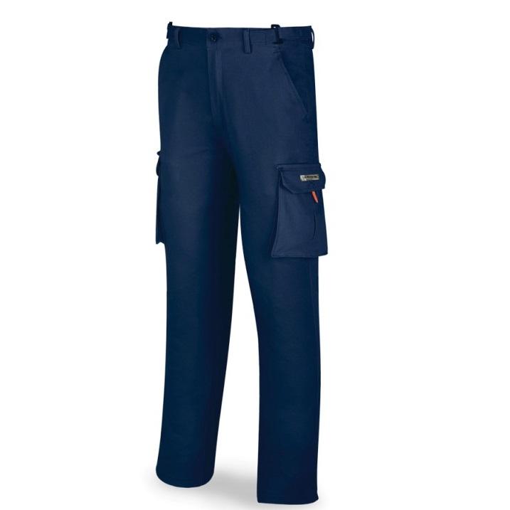 Pantalón elástico algodón y elastano azul marino 588-PELASTA