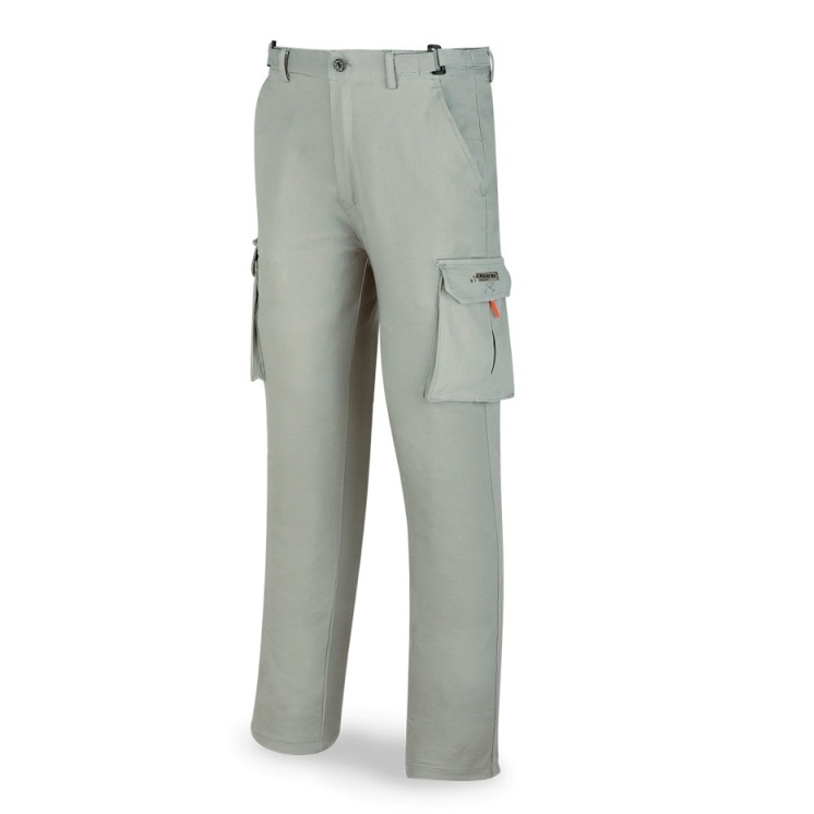 Pantalón elástico algodón y elastano gris 588-PELASTG