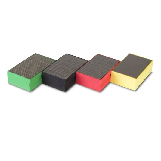 Taco de goma diamantado Rubi - Grano 60