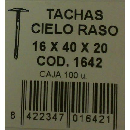 Puntas Encañizar  16x40x20 mm. (100 unidades)