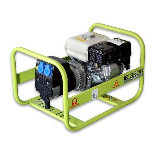 Generador Eléctrico Pramac E3200 - Monofásico Motor Honda