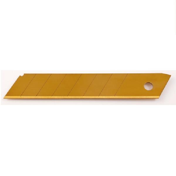 Hojas para Cutter bimaterial Titanium Bellota Ref.51406 de 18mm. (Pack 10 unidades)