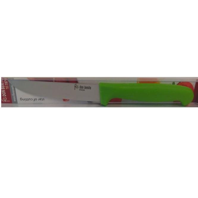 Cuchillo legumbres 10 cm inox Flores Cortés D.Benito - Multicolor