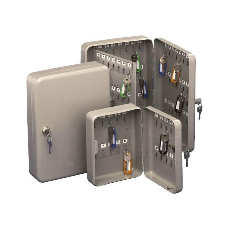 Armario portallaves de acero de 200x160x70 mm (20 llaves)