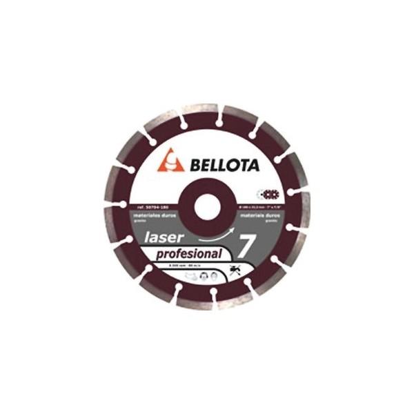Disco diamante Bellota Materiales Duros Segmentado 115Ø Ref.50704-115    - Referencia 50704-115