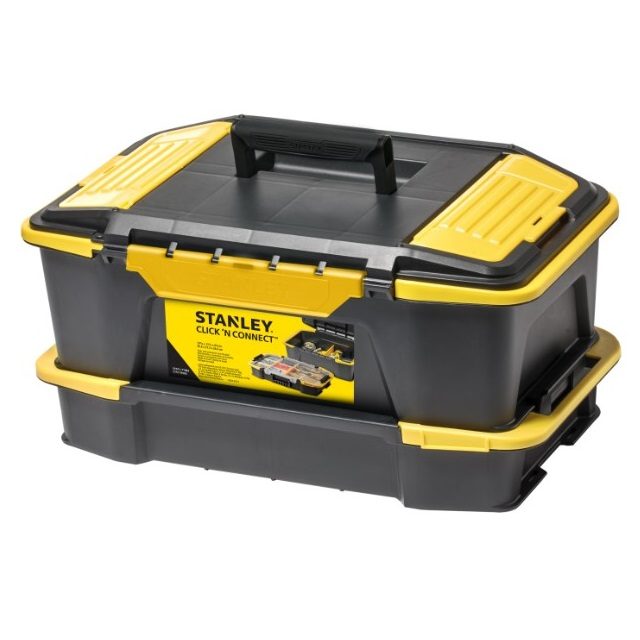 Caja herramientas Click & Connect Stanley