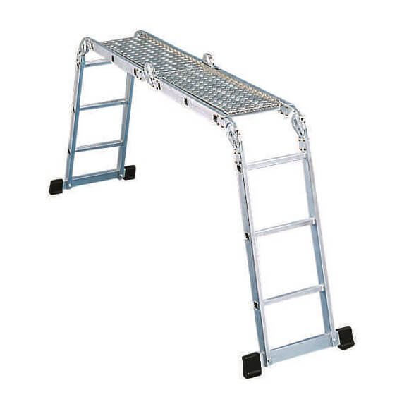 Plancha metálica para escalera articulada Zarges Z200  - Referencia 40926