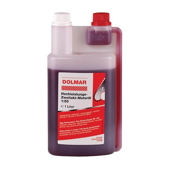 Aceite de 2 tiempos Dolmar 1L con dosificador