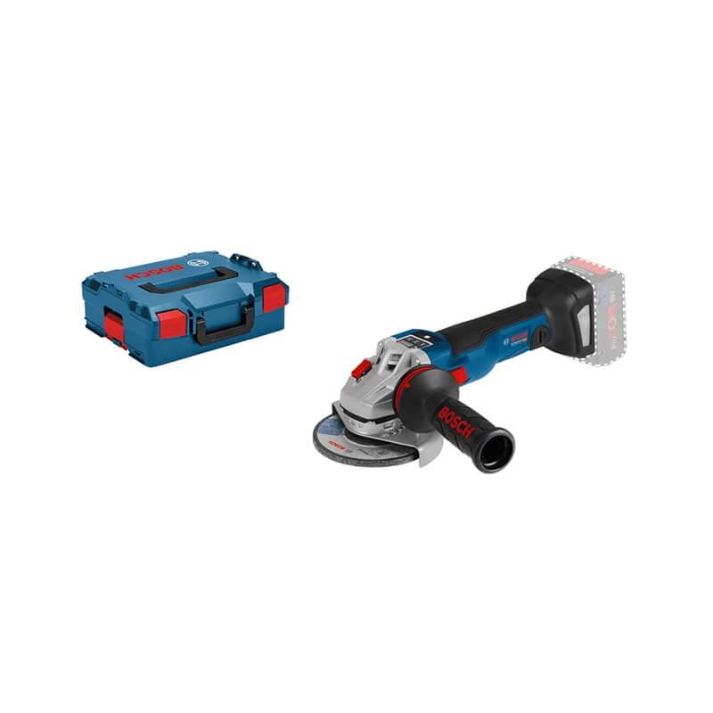 Miniamoladora a batería Bosch GWS 18V-150 SC Professional en L-BOXX