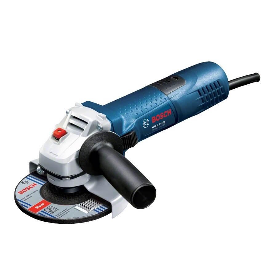Miniamoladora Bosch GWS 7-115 Professional - 720W - Referencia 0601388106
