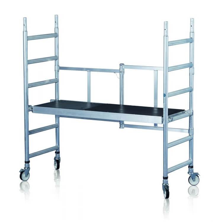 Andamio plegable de aluminio Zarges COMPACT - 2,90m - Referencia 53760