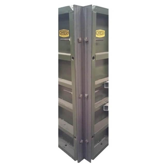 Ángulo exterior abisagrado 70-152º Cofresa - 100x100x3000mm
