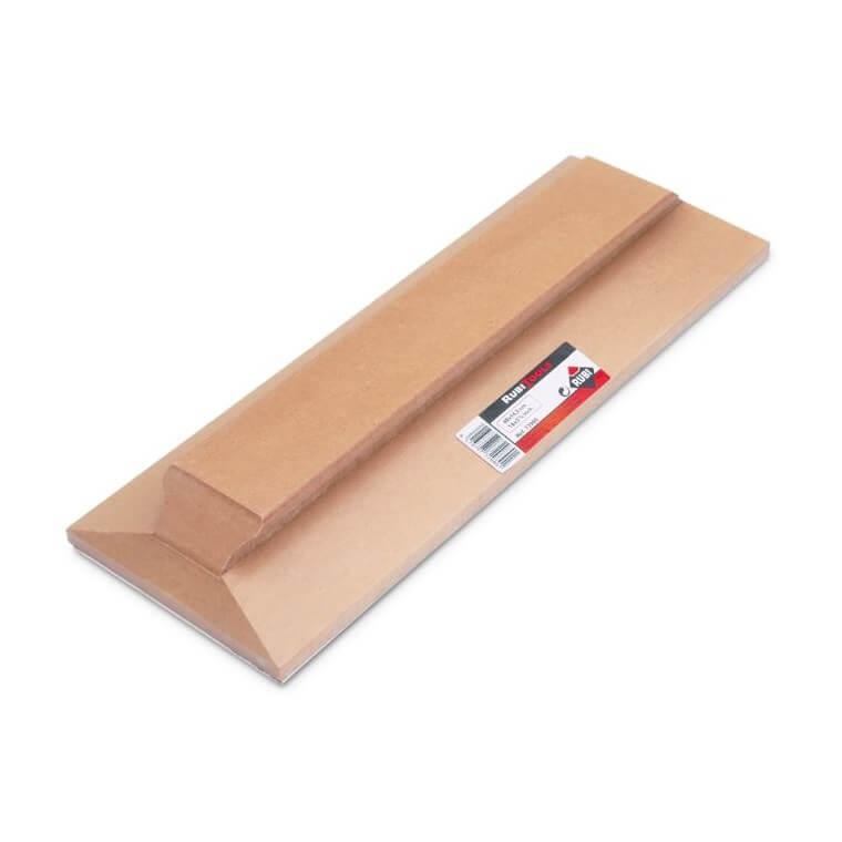 Aplanador para Solador Rubi 40 x 14,5 cm. Con Goma