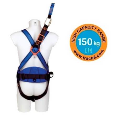 Arnés profesional Tractel HT22 con cinta RL + cinturón - Referencia 262019