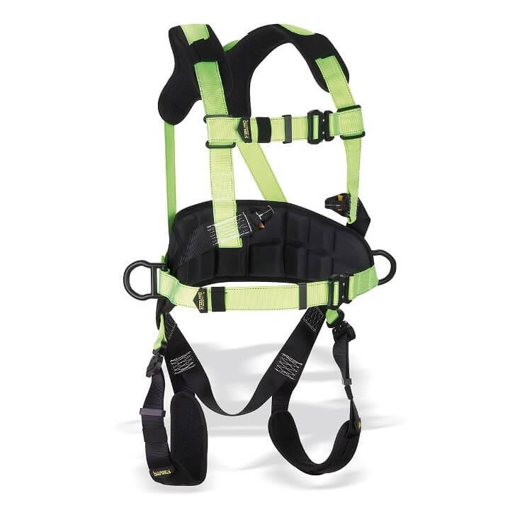 Arnés acolchado con enganche dorsal y esternal con cinturon de posic. STEELCONFORT 1