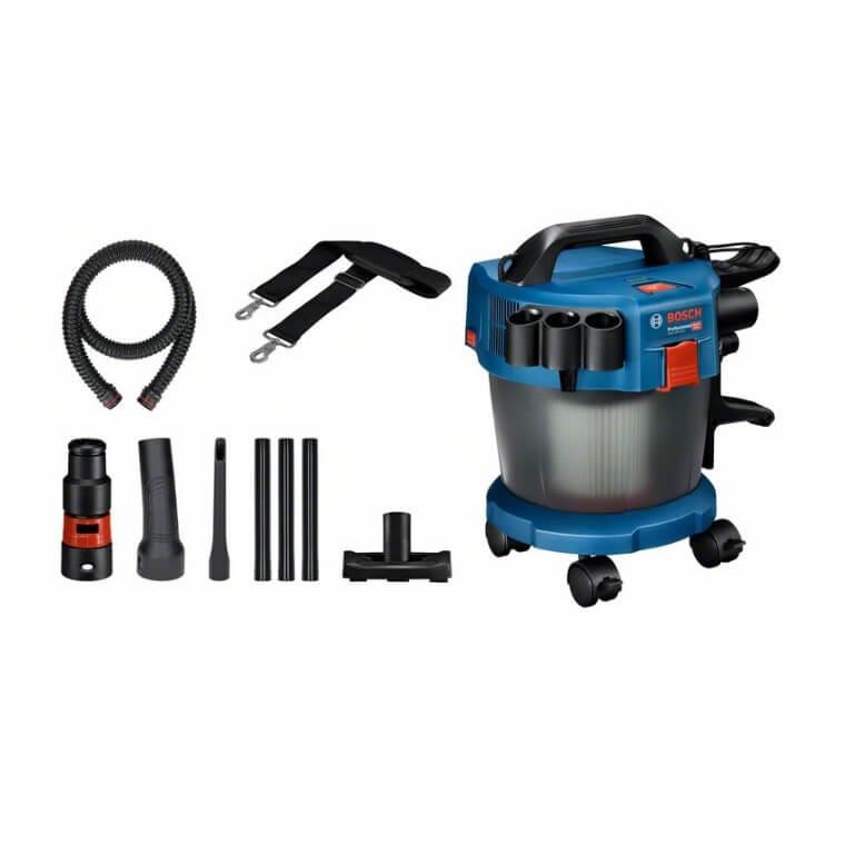 Aspirador a batería Bosch GAS 18V-10 L Professional en caja + juego de accesorios